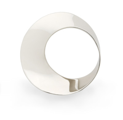 Mobius Twist pendant 16.5mm white gold