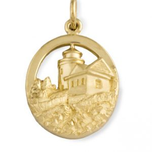 Bass Harbor Lighthouse Charm from our Maine Lighthouse Collection