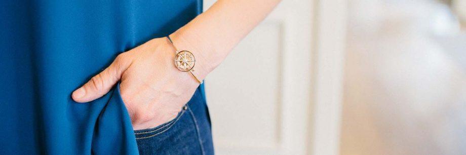 bracelet header compass