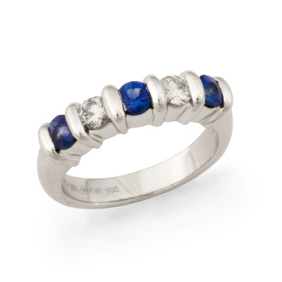 Sapphire and Diamond RR band