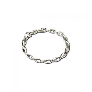 Sculpted link bracelet