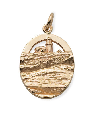 Seguin Island Lighthouse Charm