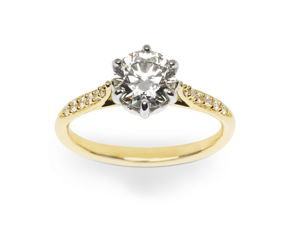 the jubilee - diamond engagement ring