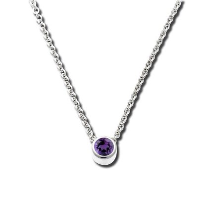 265227 - Sterling Silver and Amethyst Pendant
