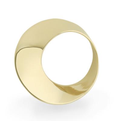 Mobius Twist pendant yellow gold 16.5mm