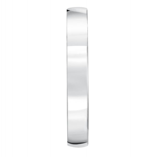 Platinum band Low dome 3mm comfort fit