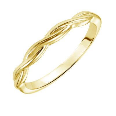 Twisted band 2mm yellow gold