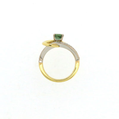 vault sale green tourmaline ring