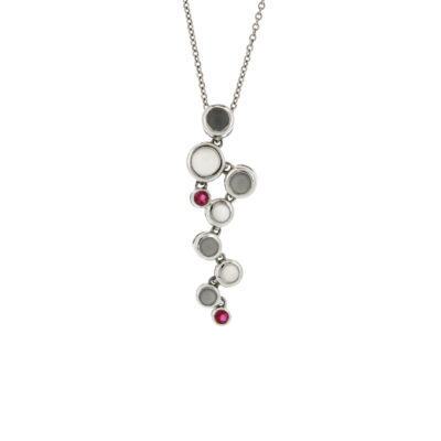 vault sale ruby moonstone pendant