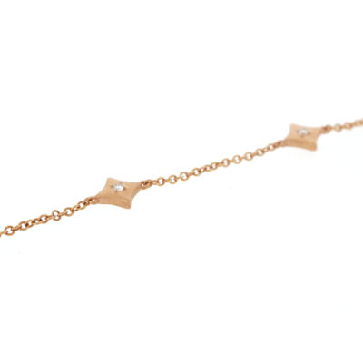 vault sale rose gold diamond bracelet