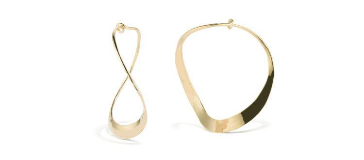 Curvy Hoop Earring