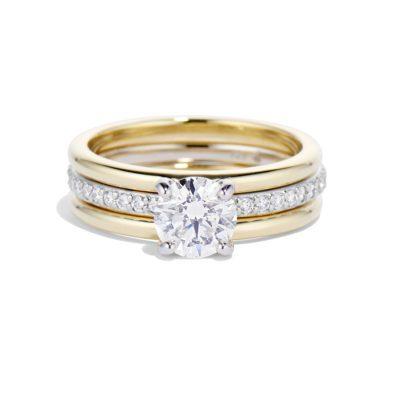 convertible diamond ring