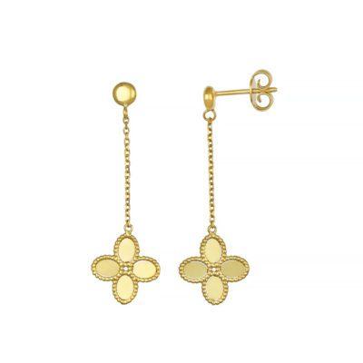 Clover Drop Earrings