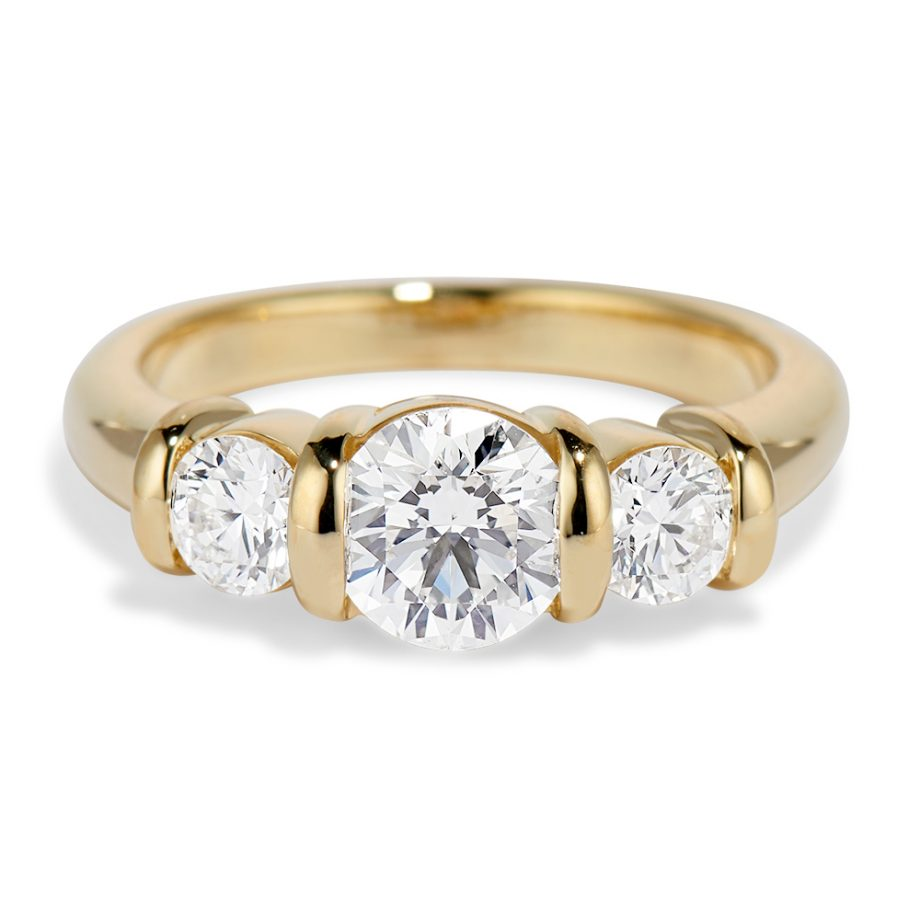 Diamond Ridge Ring