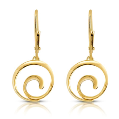 yellow gold spiral