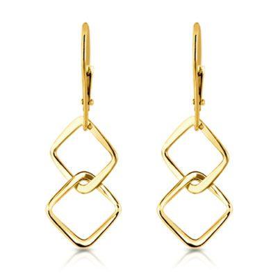 square link earrings