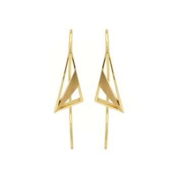 divine crescents earrings - artemis