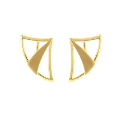 olympian bow earrings - artemis