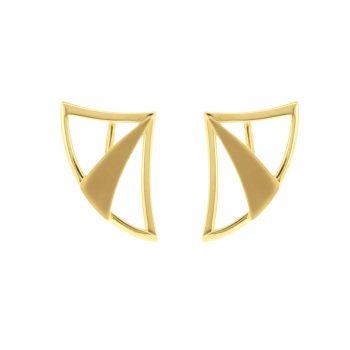 olympian bow earrings - artemis