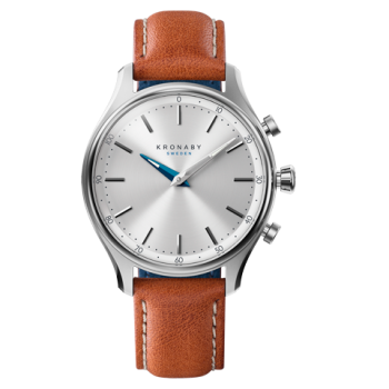 Kronaby Sekel S0658-1- Hybrid smartwatch #280013 Brown Leather 38mm