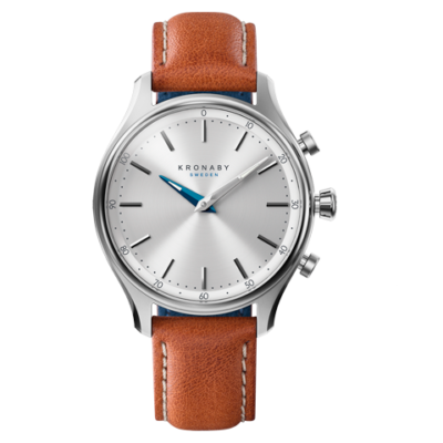 Kronby Sekel - S0658-1 Brown Leather 38mm