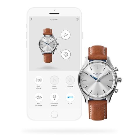 Kronaby Sekel S0658-1- Hybrid smartwatch #280013 App