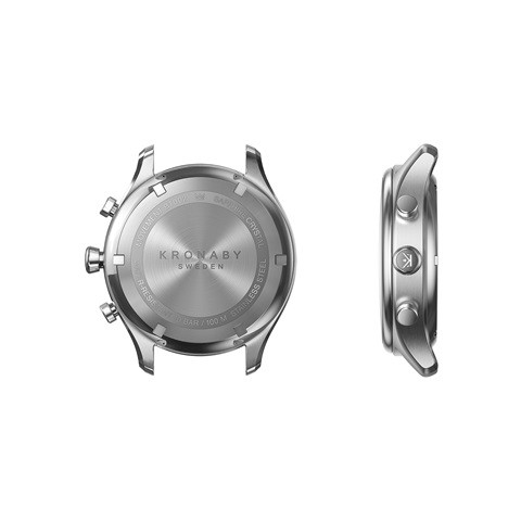 Kronaby Sekel S0658-1- Hybrid smartwatch #280013 case back