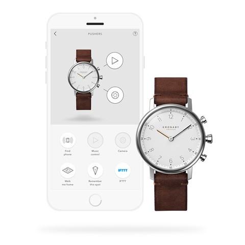 Kronaby Nord - Hybird smartwatch #S0711-1 280020 watch app