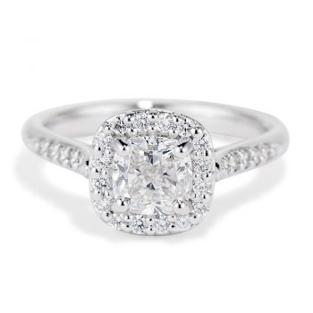 Diamond Halo Jubilee Ring