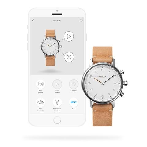 Kronaby Nord - Hybrid smartwatch S0712-1 #280022 watch App