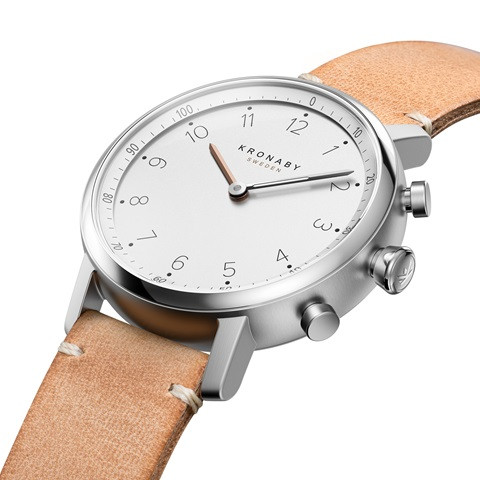 Kronaby Nord - Hybrid smartwatch S0712-1 #280022 watch side