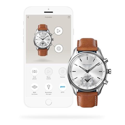 Kronaby Sekel- Hybrid smartwatch - S0713-1- watch - 43mmAPP