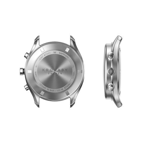 Kronaby Sekel- Hybrid smartwatch - S0713-1- watch - 43mm back of face