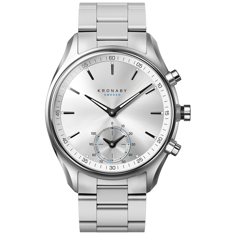 Kronaby S0715_1 sekel-43mm Hybrid smart watch 280007 face