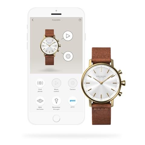 Kronaby Carat - Hybrid smartwatch S0717-1 - watch 280031 App