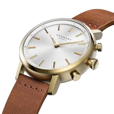 Kronaby Carat - Hybrid smartwatch S0717-1 - watch 280031 side