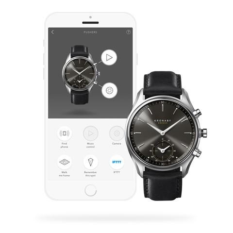 Kronaby S0718-1 sekel-43mm Hybrid Smartwatch 280010 APP