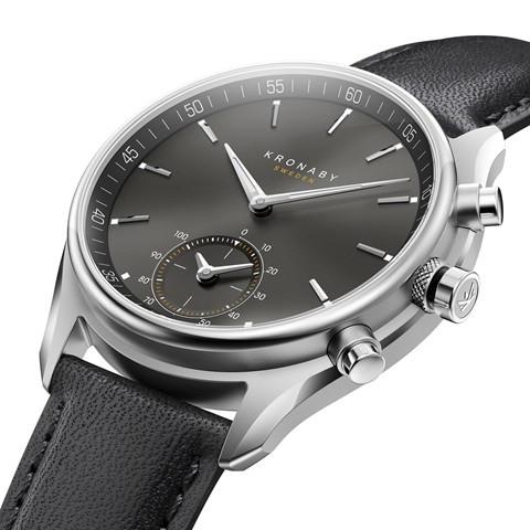 Kronaby S0718-1 sekel-43mm Hybrid Smartwatch 280010 side