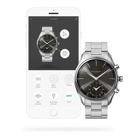 Kronaby S0720-1 sekel-43mm Hybrid smart watch 280009APP