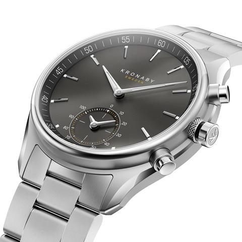 Kronaby S0720-1 sekel-43mm Hybrid smart watch 280009 side