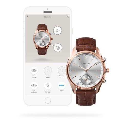 Kronaby Sekel S2746-1- Hybrid smartwatch 280005 APP