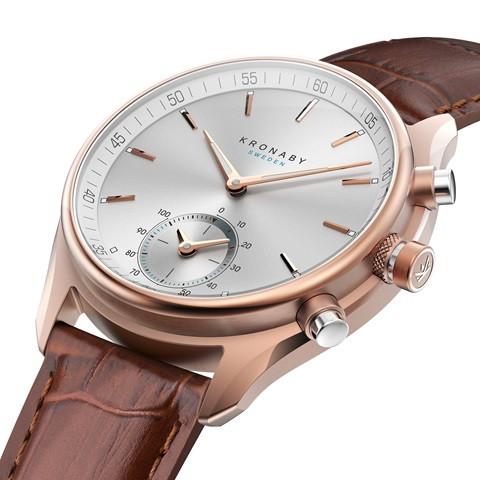 Kronaby Sekel S2746-1- Hybrid smartwatch 280005 side