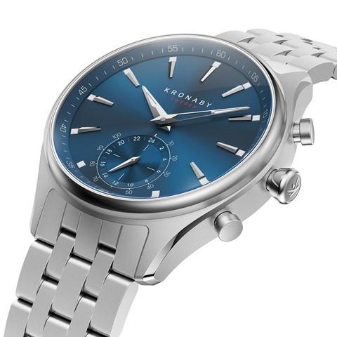 Kronaby Sekel #S3119-1 Hybrid Smartwatch 280015 diagonal