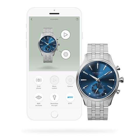 Kronaby Sekel #S3119-1 Hybrid Smartwatch 280015 app