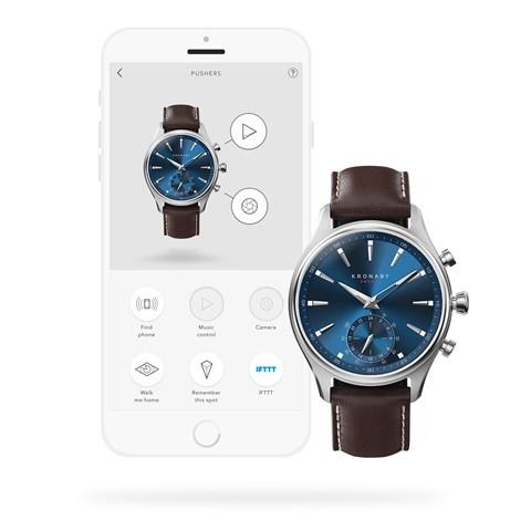 Kronaby Sekel Hybrid Smartwatch S3120-1 #280016 App