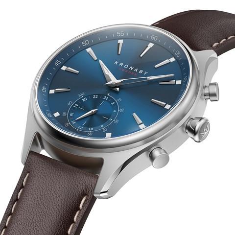 Kronaby Sekel Hybrid Smartwatch S3120-1 #280016 side