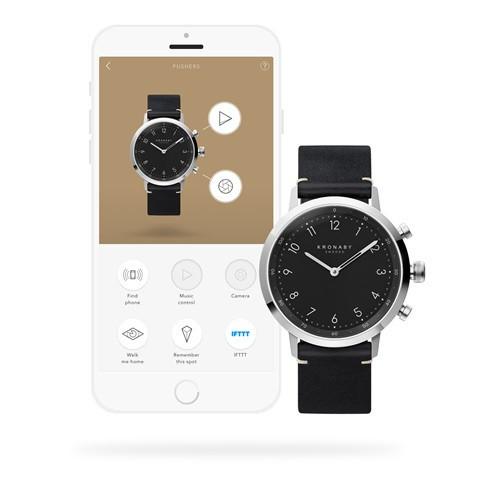 Kronaby Nord - Hybrid smartwatch S3126-1 Smartwatch #280023 watch app