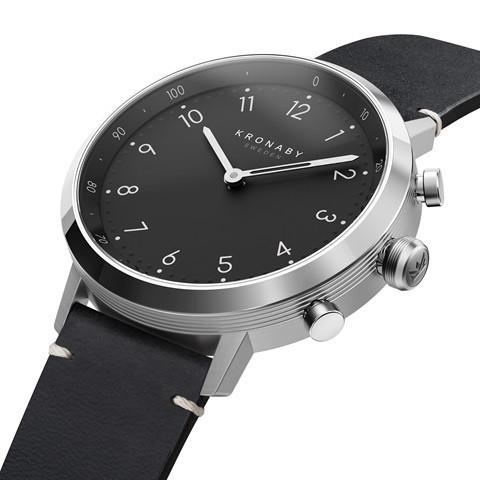 Kronaby Nord - Hybrid smartwatch S3126-1 Smartwatch #280023 watch side