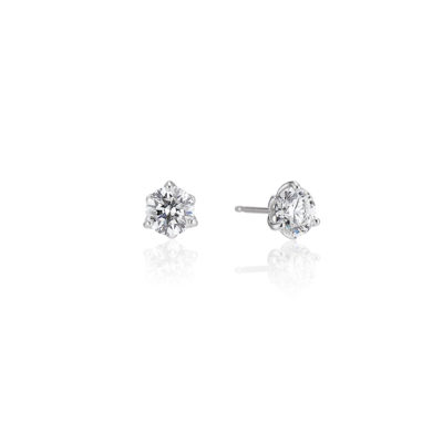 jubilee diamond stud earrings