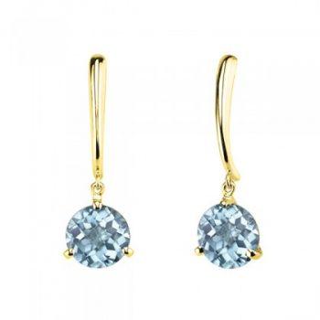 Aquamarine dangle earrings 393036